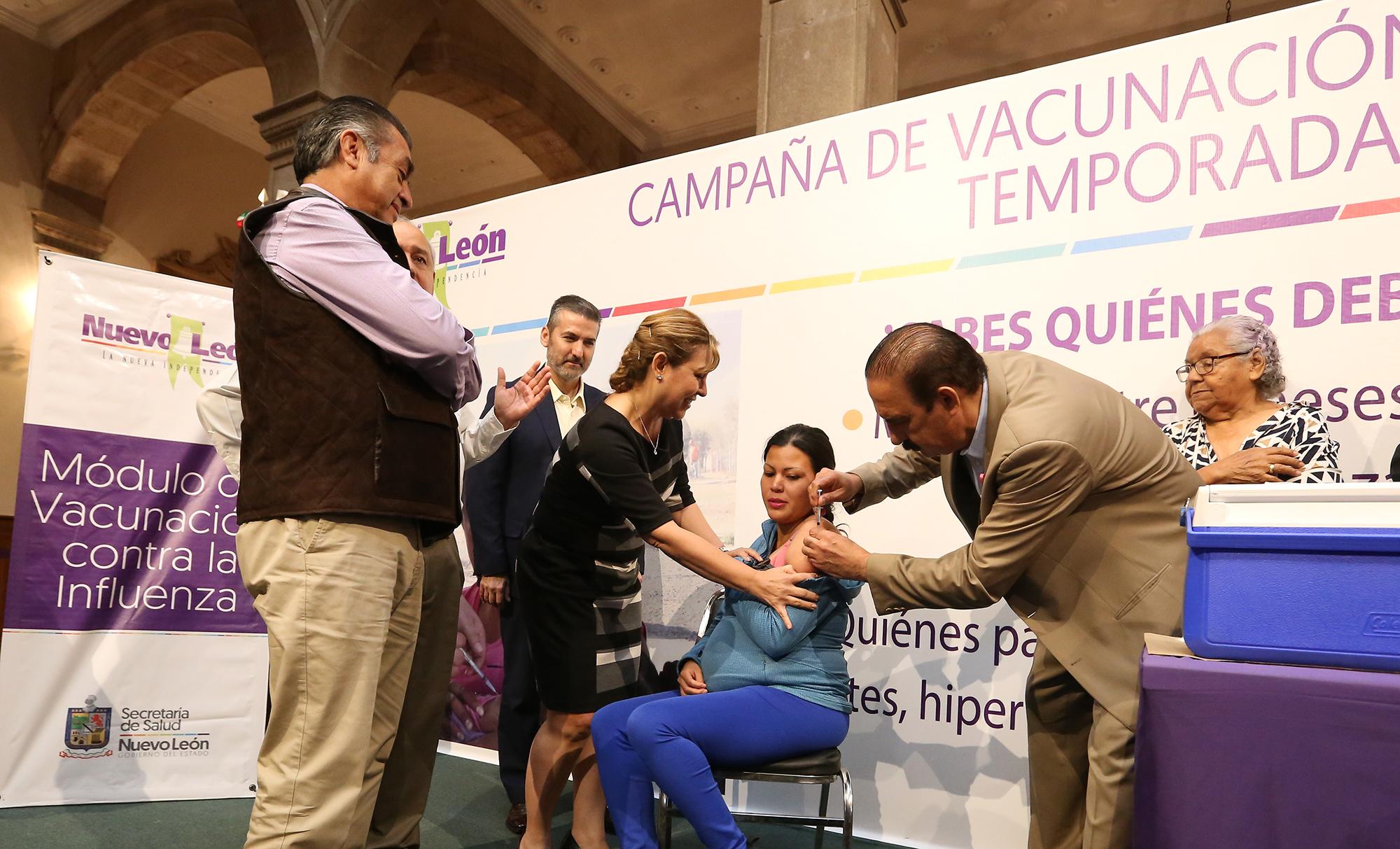 Arranca Gobierno Ciudadano Vacunación Contra La Influenza