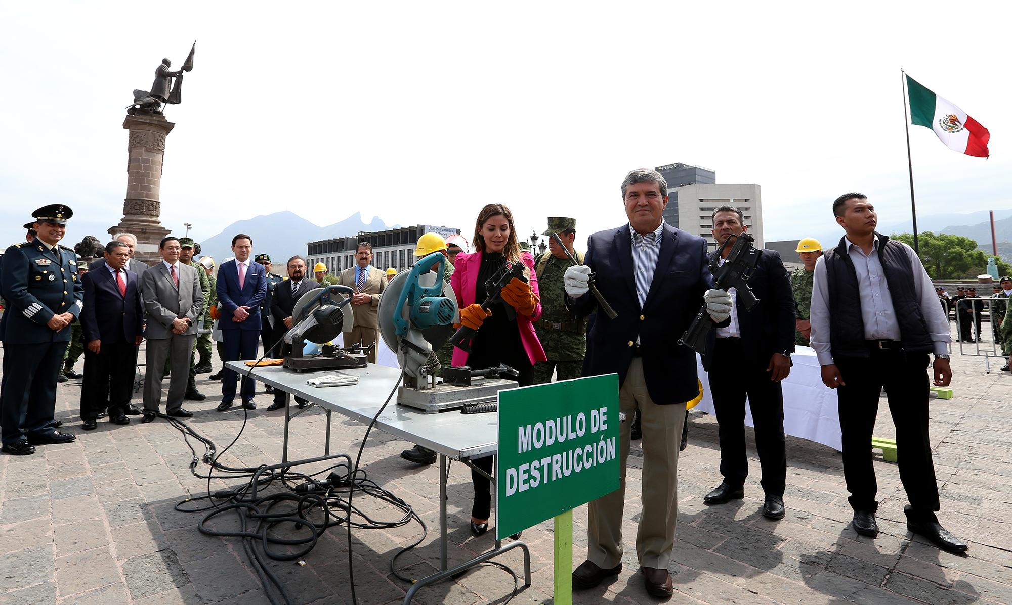 Destruye Sedena En Nuevo León Más De 3 Mil Armas Aseguradas