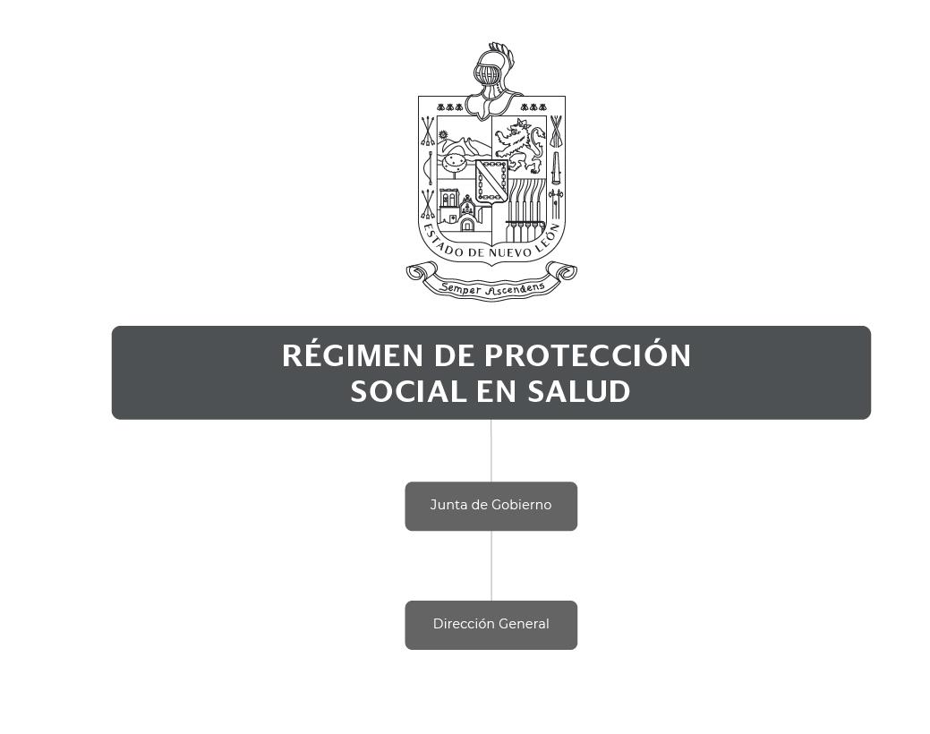 Organigrama de Régimen de Protección Social en Salud