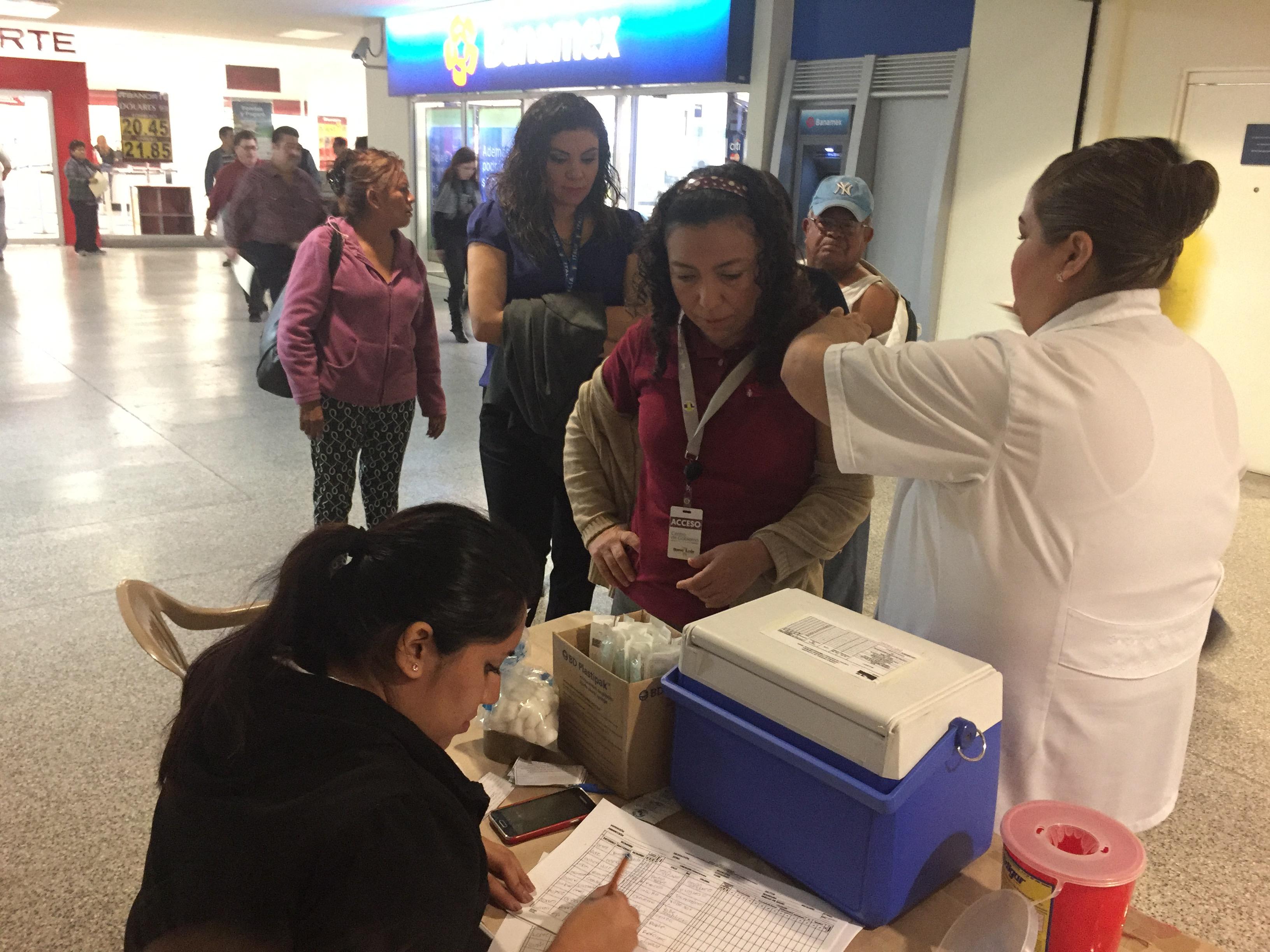 Instala Estado Módulo De Vacunación Contra La Influenza En