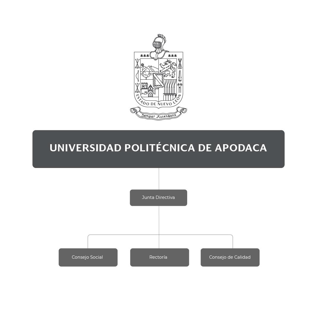Organigrama de la Universidad Politécnica de Apodaca
