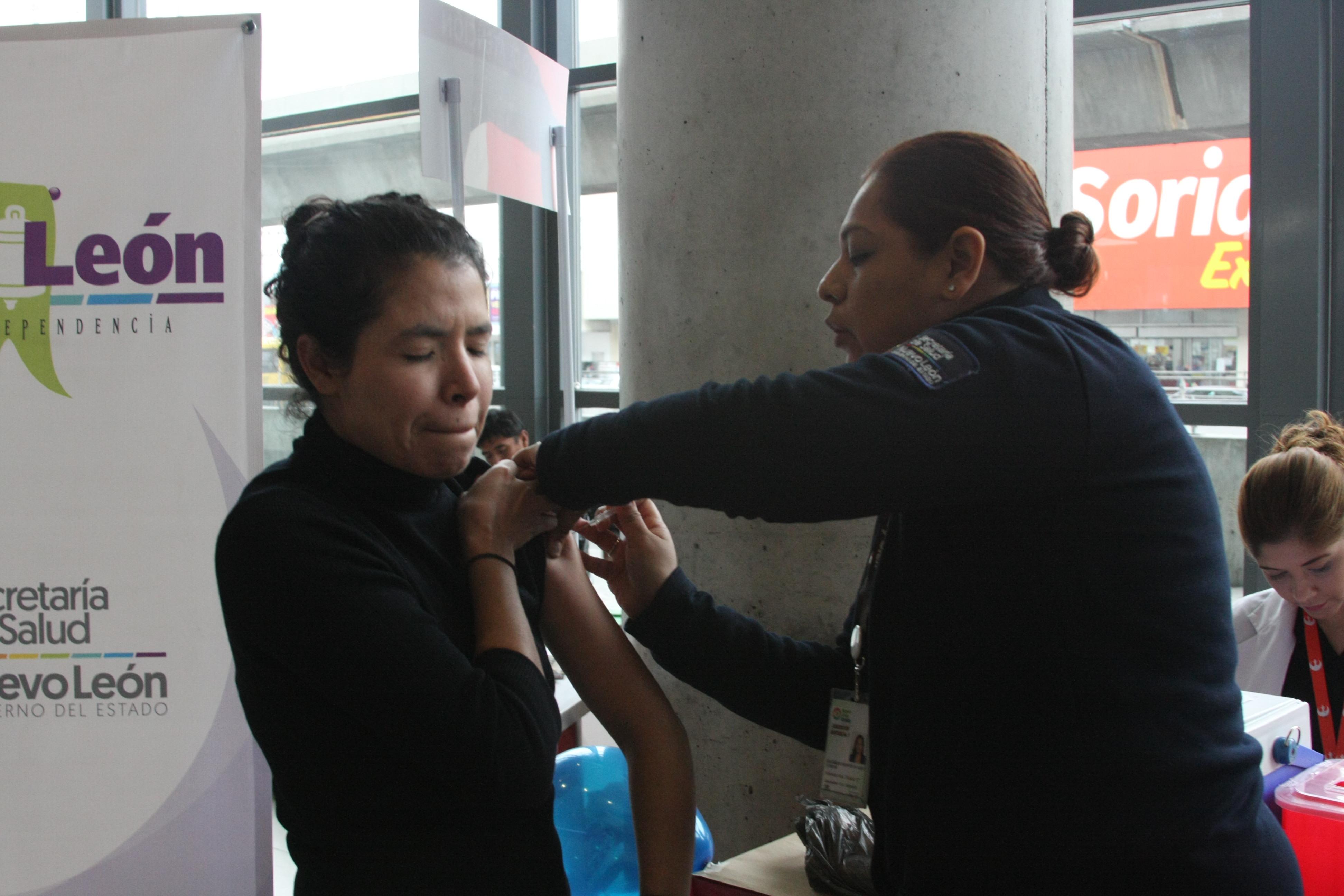Instalan Módulo De Vacunación Contra Influenza En Central De