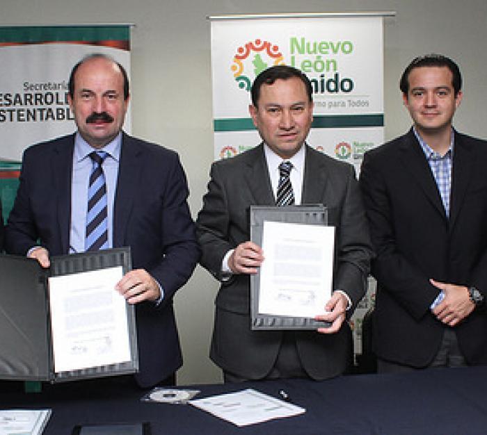 Firma de acuerdo: SEDESU, SEMARNAT, ALLENDAC, CNIH y CEMEX