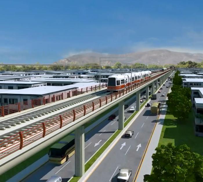 El tramo elevado de la Línea 3 del Metro se desplegará por la Av. Félix U. Gómez y Av. López Mateos desde el Hospital de Gine hasta el Hospital Metropolitano