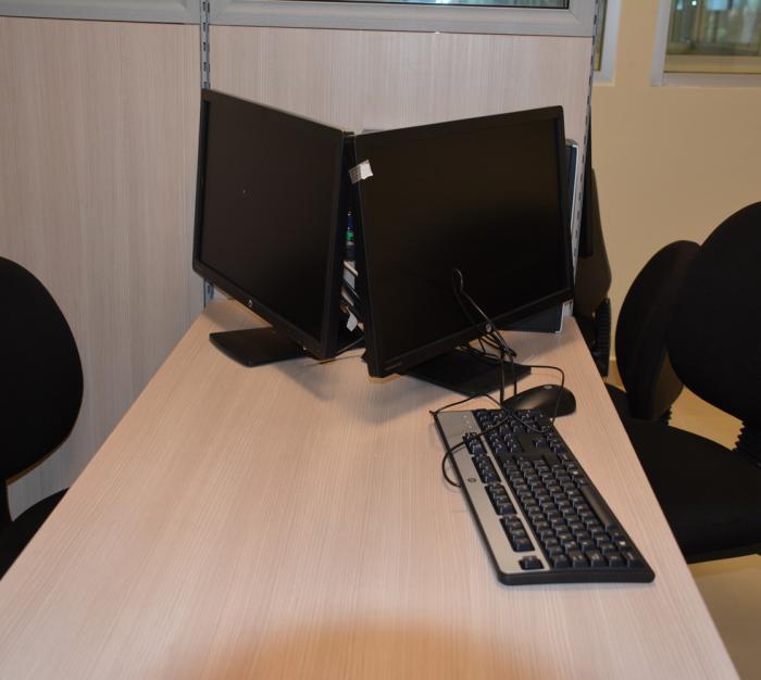 Moderno equipo de computo en Ciudad Laboral