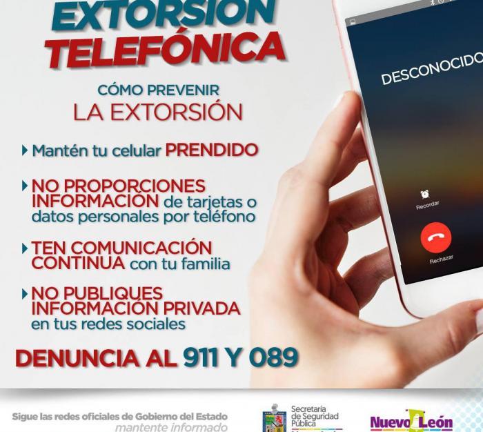 Cómo prevenir la extorsión telefónica