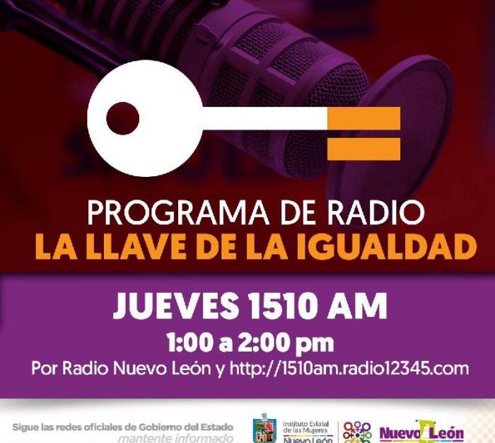 La llave de la igualdad,  radio