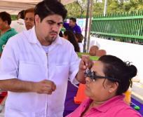 Brigada impulso ciudadano en la colonia constituyentes del 57