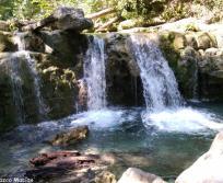 Cascadas en el Parque la Estanzuela
