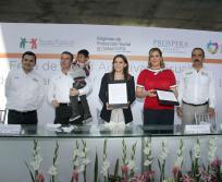 Firman convenio de colaboración DIF Nacional y Estatal