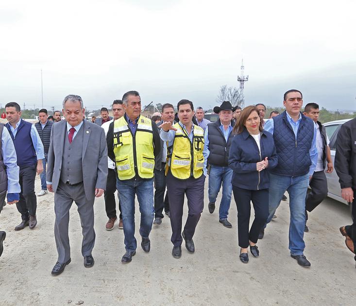 Arrancan obras de tercera etapa del periférico del área metropolitana de Monterrey