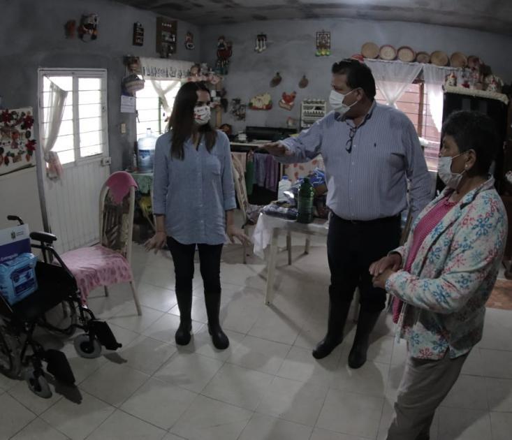 """Inicia NL entrega de apoyos a afectados por """"Hanna"""""""