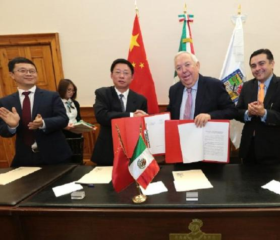Firma Nuevo León Memorándum de Entendimiento con Zhejiang, China