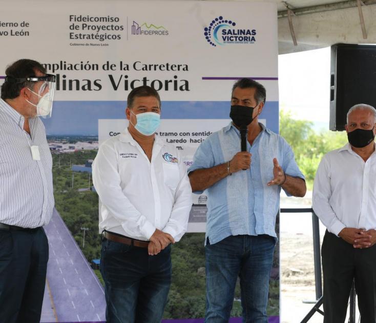 Crece Nuevo León vías de comunicación en zona periférica