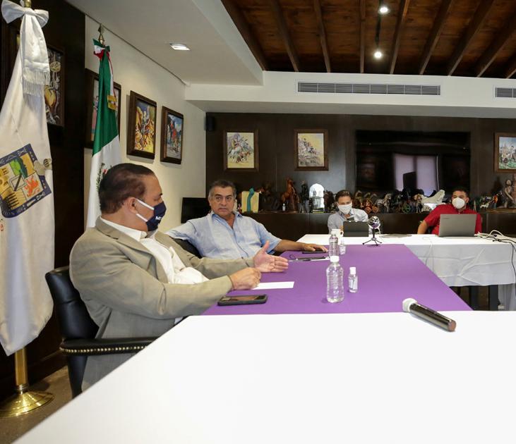Propone Nuevo León vacunación en empresas