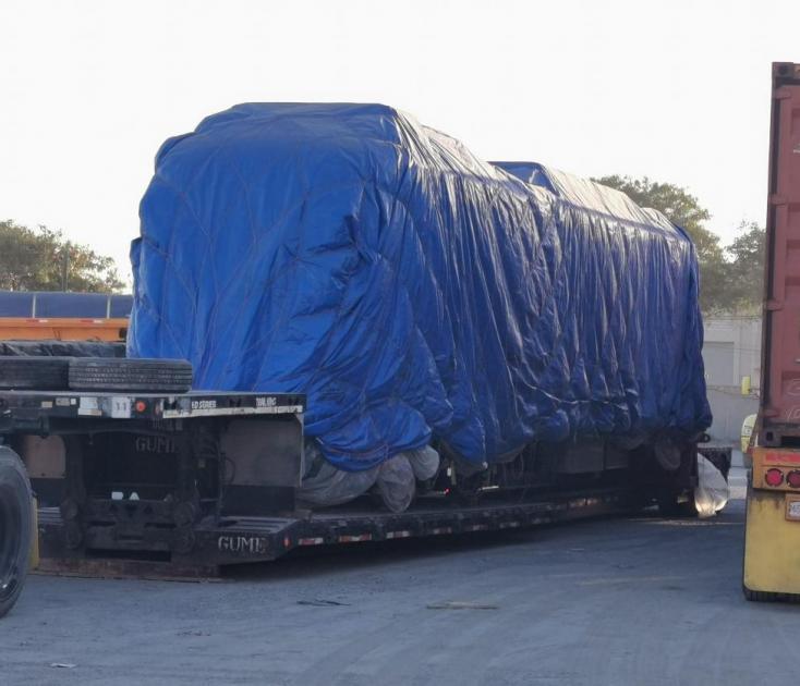 Llegan vagones nuevos construidos en China a Nuevo León