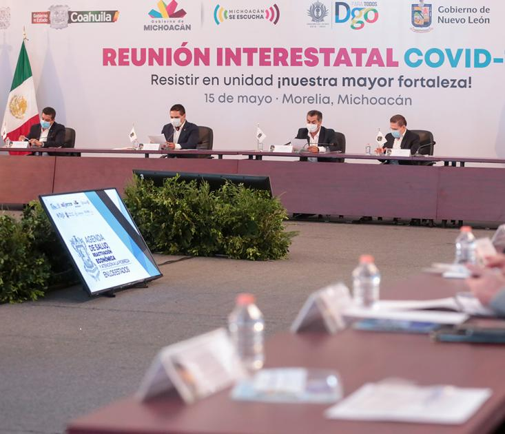 Ajustarán Estados plan de reactivación económica
