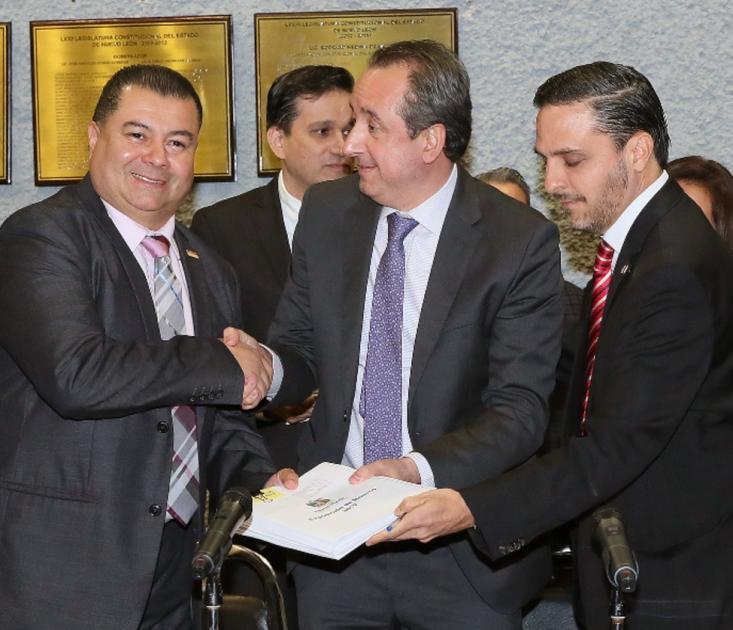 Entrega Ejecutivo Paquete Fiscal 2019 al Congreso del Estado