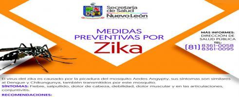 Detectan caso de Zika en NL