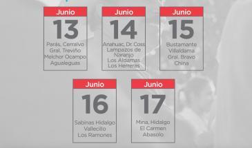 Calendario Apoyos Rurales