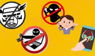No seas víctima de los delincuentes