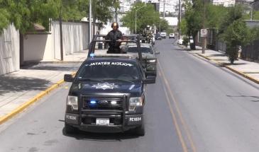 Nuevo León con acciones en marcha: Policía Militar