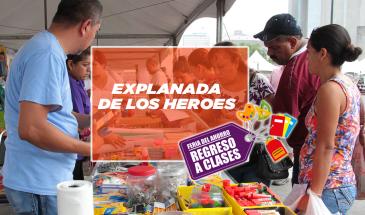 Feria Regreso a Clases_ Explanada de los Héroes