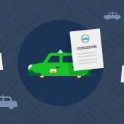 Renovación de títulos de concesión de taxis - 2015