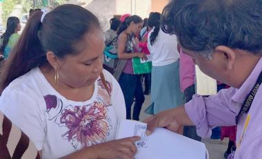 """Brigada """"Impulso ciudadano"""" en Anáhuac"""