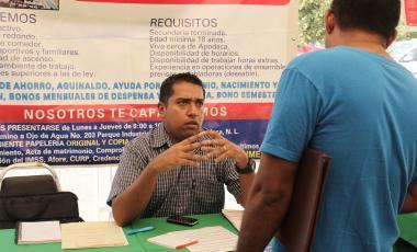 Feria de Empleo en Salinas Victoria
