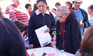 """Brigada """"Impulso Ciudadano"""" en Higueras"""