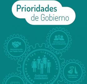 Capítulo 8. Prioridades de Gobierno