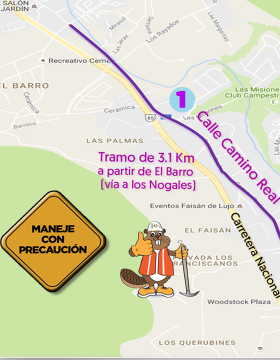 Rehabilitación de avenidas en Santiago