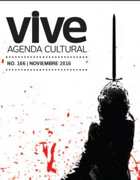 Agenda cultural de CONARTE | Noviembre 2016