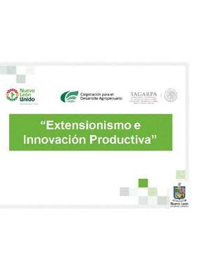 Extensionismo e Innovación Productiva