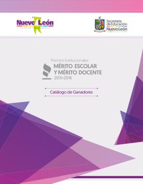 Premios al Mérito Escolar y Mérito Docente 2015-2016