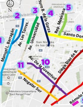 Rehabilitación de avenidas en San Nicolás
