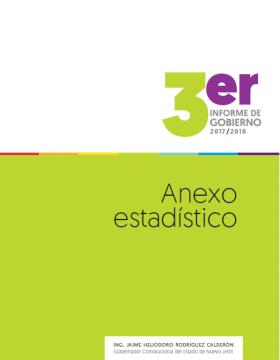 Anexo estadístico del Tercer informe de Gobierno