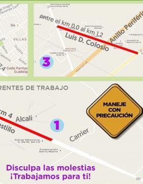 Rehabilitación de avenidas en García