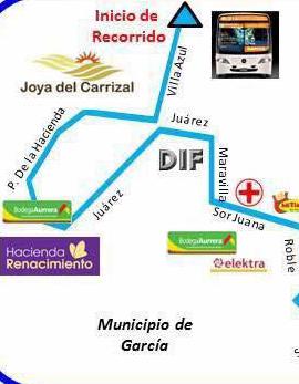 Ruta 310 - García