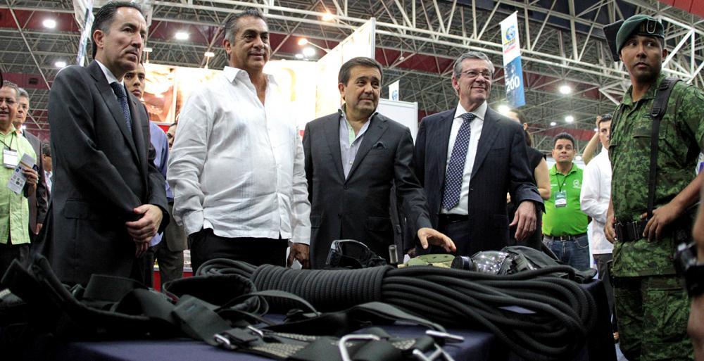"""Inaugura El Bronco la Expo Internacional """"Constructo 2016"""""""