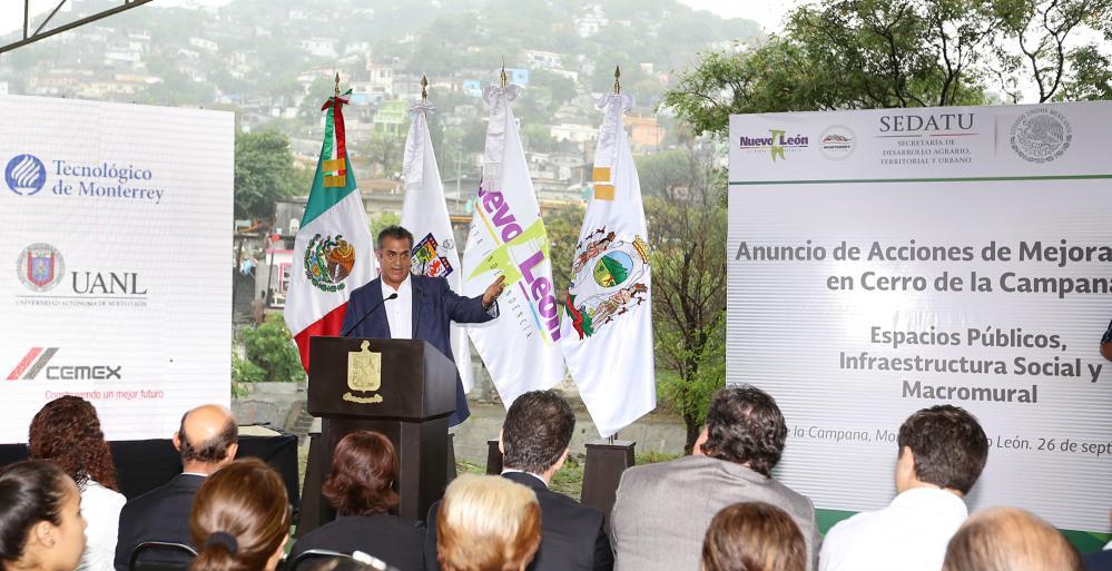 Regenerarán zona del Cerro de la Campana