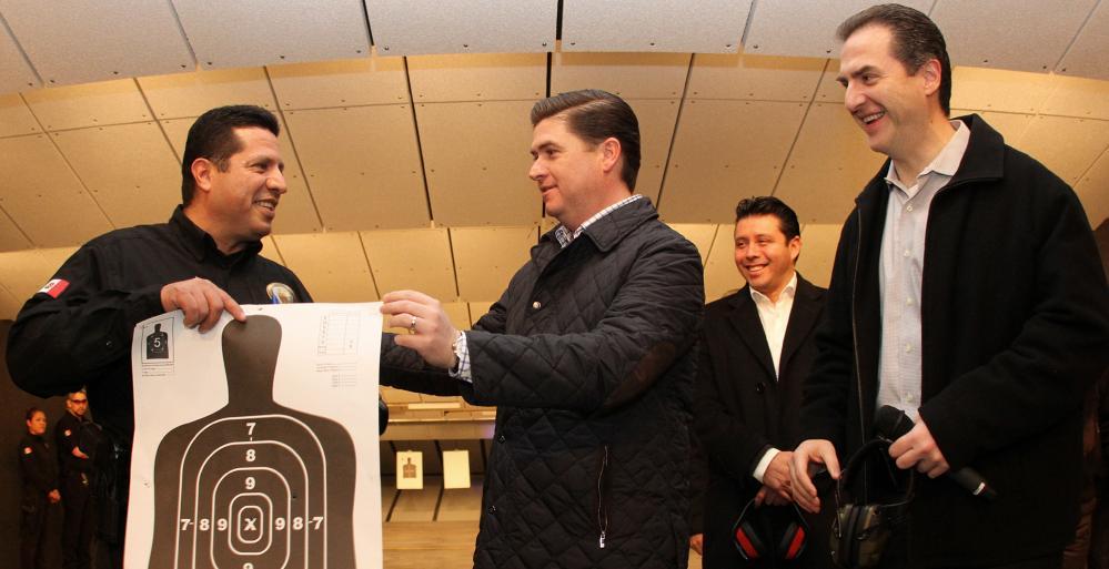 Supervisa Gobernador Rodrigo Medina construcción de la nueva Agencia Estatal de Investigaciones