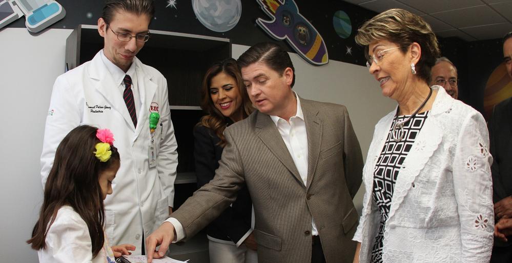 Inauguran Centro Regional de Desarrollo Infantil en la colonia Ancira.