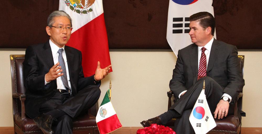 Buscan fomentar la integración de proveedores mexicanos con las empresas coreanas que se establecerán en Nuevo León.