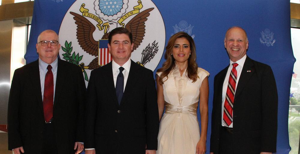 Reconoce el Mandatario Estatal la relación bilateral que le ha permitido avanzar a Nuevo León en distintos rubros
