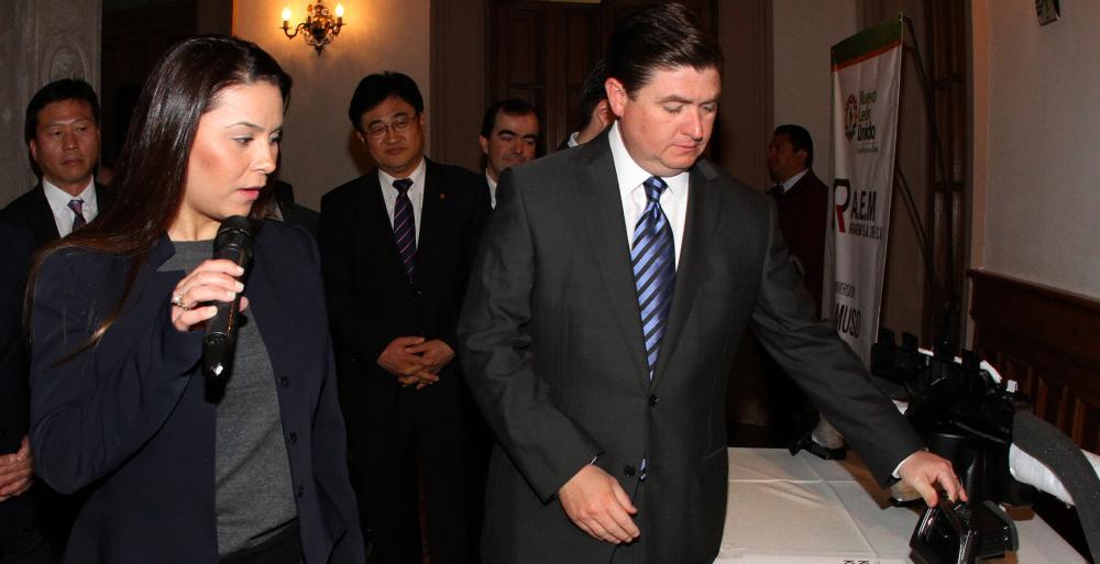 Anuncia Estado inversión por 99 millones de dólares de empresas proveedoras de KIA