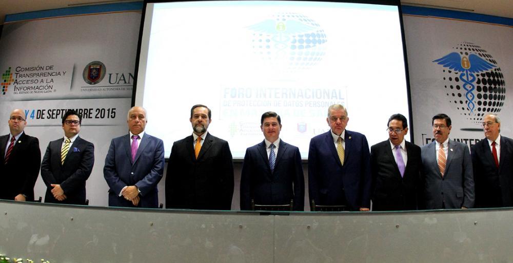 Realizan en Nuevo León Foro Internacional de Protección de Datos Personales en materia de Salud