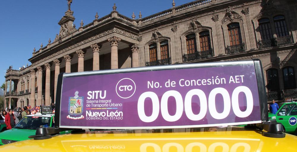 Tendrá Nuevo León taxis seguros