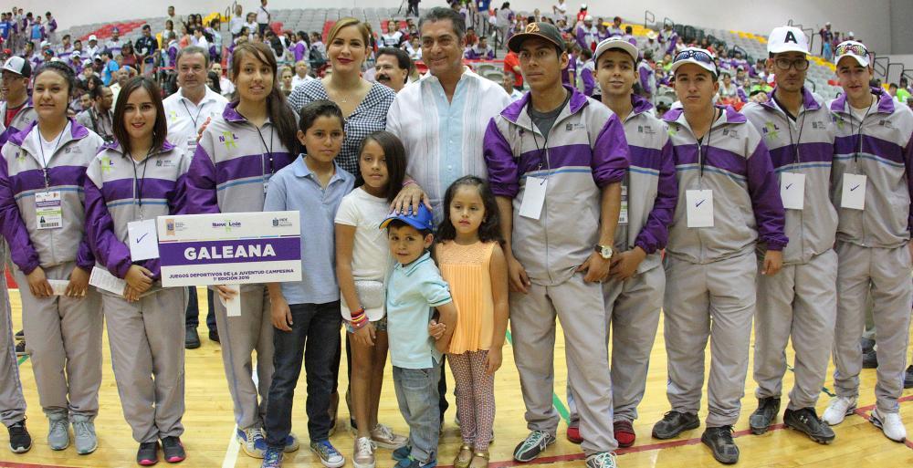 Inaugura Bronco Juegos Deportivos de la Juventud Campesina 2016